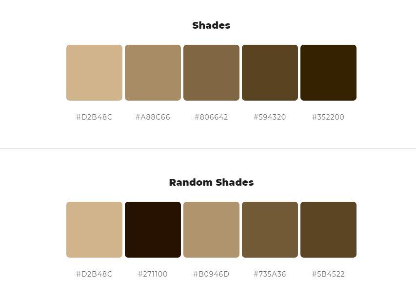 Light Tan Colors