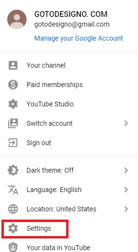 YouTube Channel Name Desktop Step 2