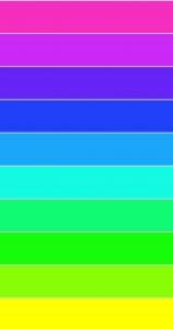 Pink Color Gradient - Fuchsia (#F52EC0) to Yellow (#FFFF00)